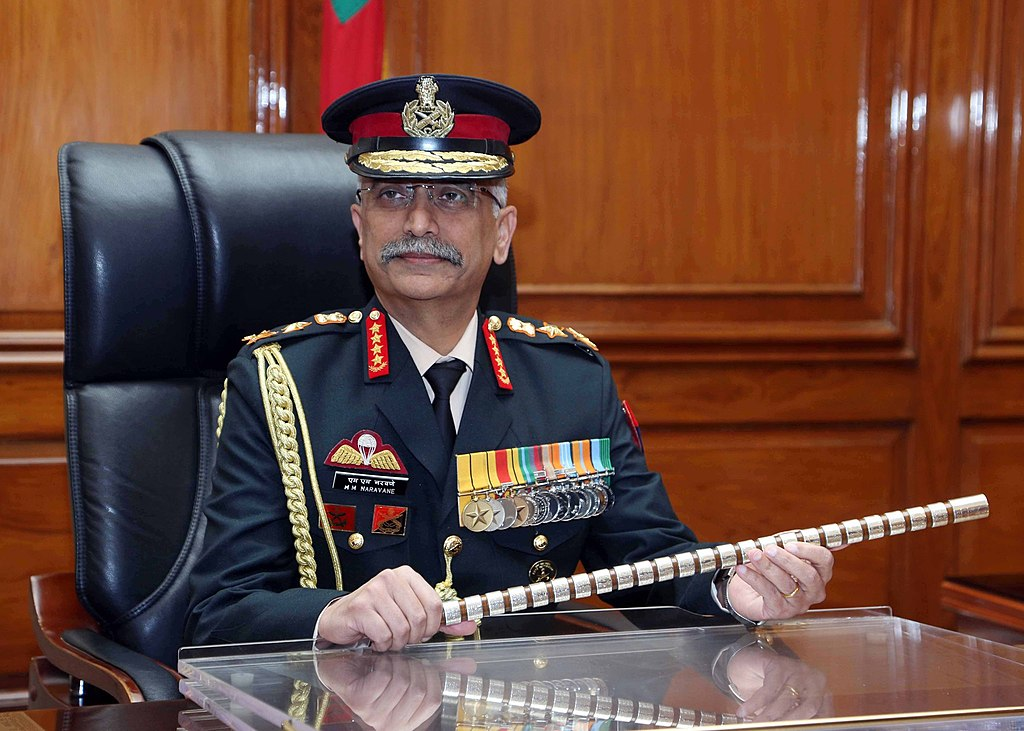 Army Chief General MM Naravane to begin 2-day Nepal visit today