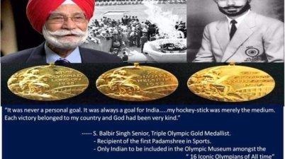 Hockey Legend Balbir Singh Sr passes away - नहीं रहें ओलम्पिक के गोल्ड मेडलिस्ट बलवीर सिंह सीनियर…