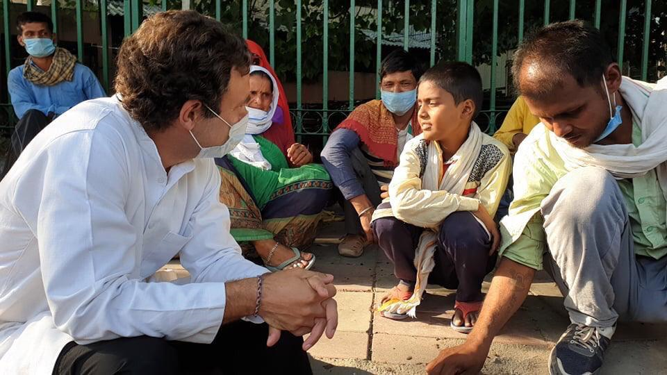Rahul Gandhi's sharp attack against the government over GDP demonetisation