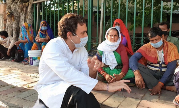 COVID19 Lockdown: Rahul Gandhi Interacts with migrants workers