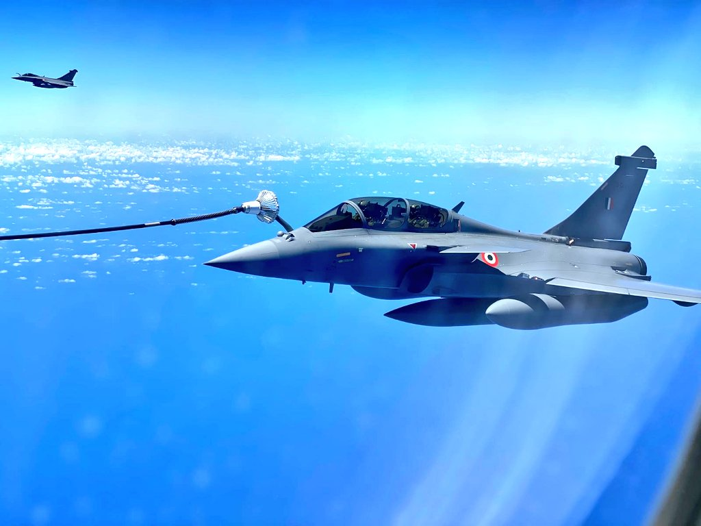 Three more Rafale jets to arrive today