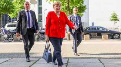 Merkel isn't just successful because of her 'mutti' image. EPA