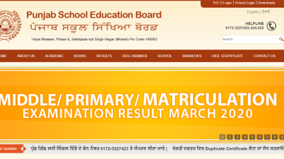 Punjab Board Class 12th Result Today