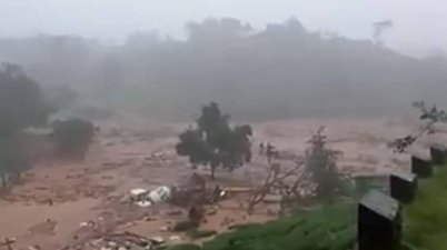 Kerala Major landslide near Munnar