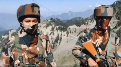 India China Face off: India creates a history, deployed women soldiers at LAC