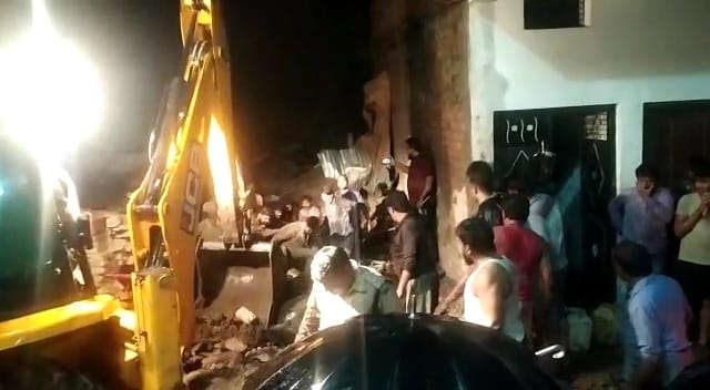 1 Killed, 3 Injured As Building Collapses After Rain In Madhya Pradesh