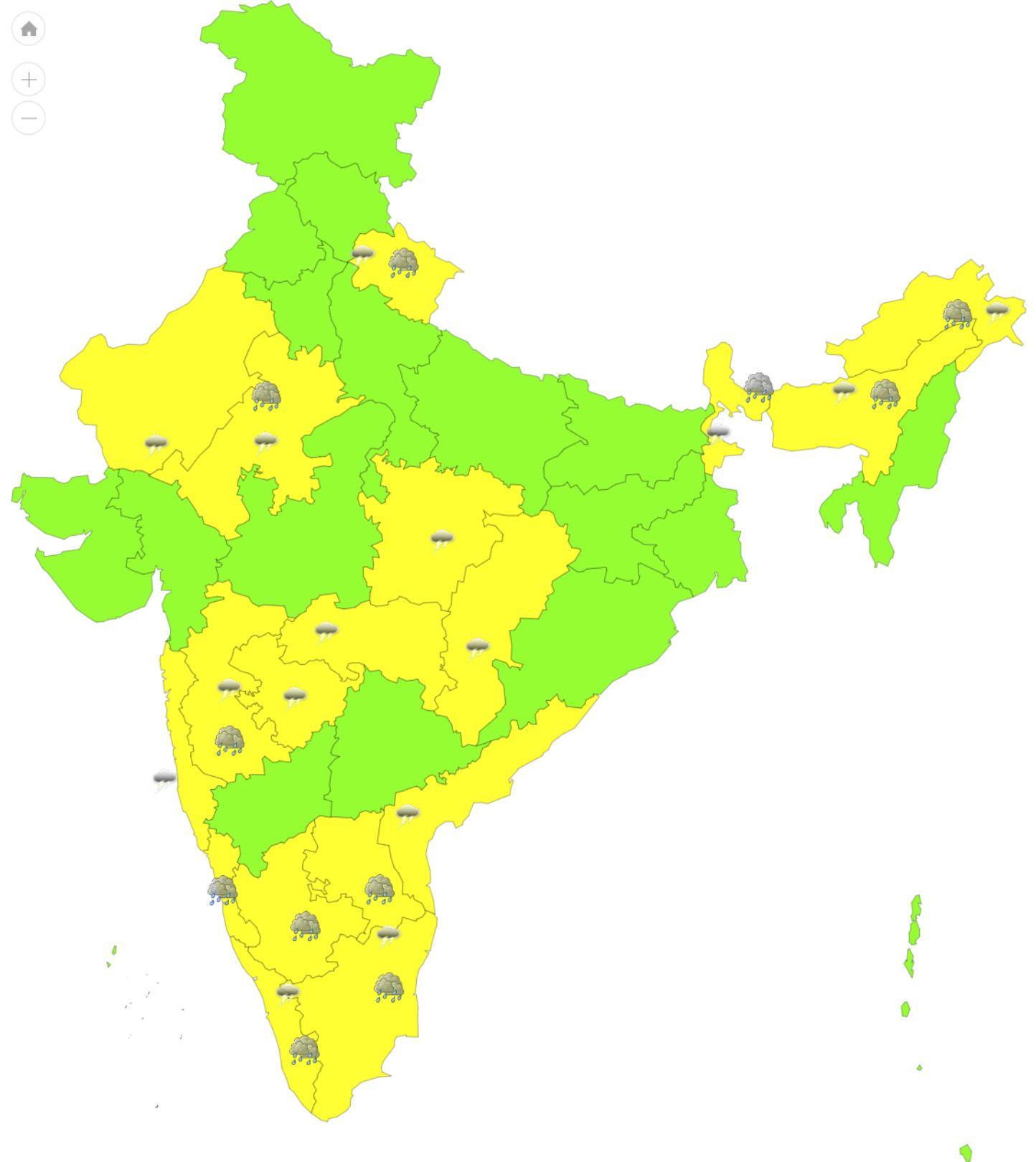 Rajasthan Weather Alert