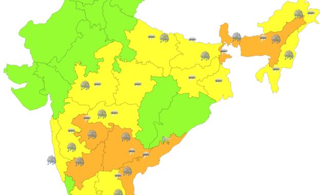 India Weather Alert