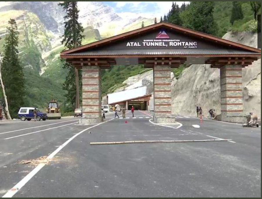 Atal Rohtang Tunnel Inauguration