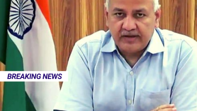 Delhi's deputy CM Manish Sisodia hospitalised due to Covid-19