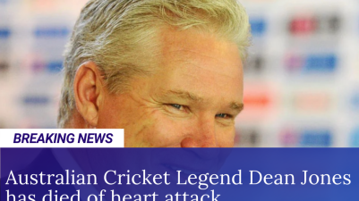 Dean Jones has died of heart attack