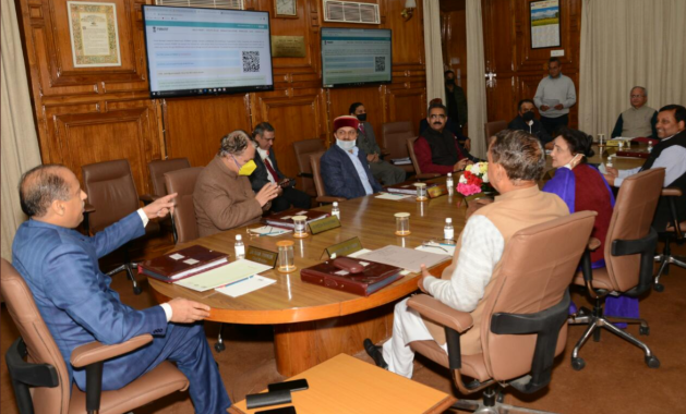 Himachal Cabinet Meeting Today