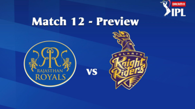 #IPL2020: 12th Match of the Dream11 Indian Premier League (IPL) Rajasthan Royals (RR) take on Kolkata Knight Riders (KKR)