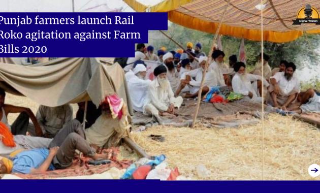 Punjab farmers launch Rail Roko agitation against Farm Bills 2020