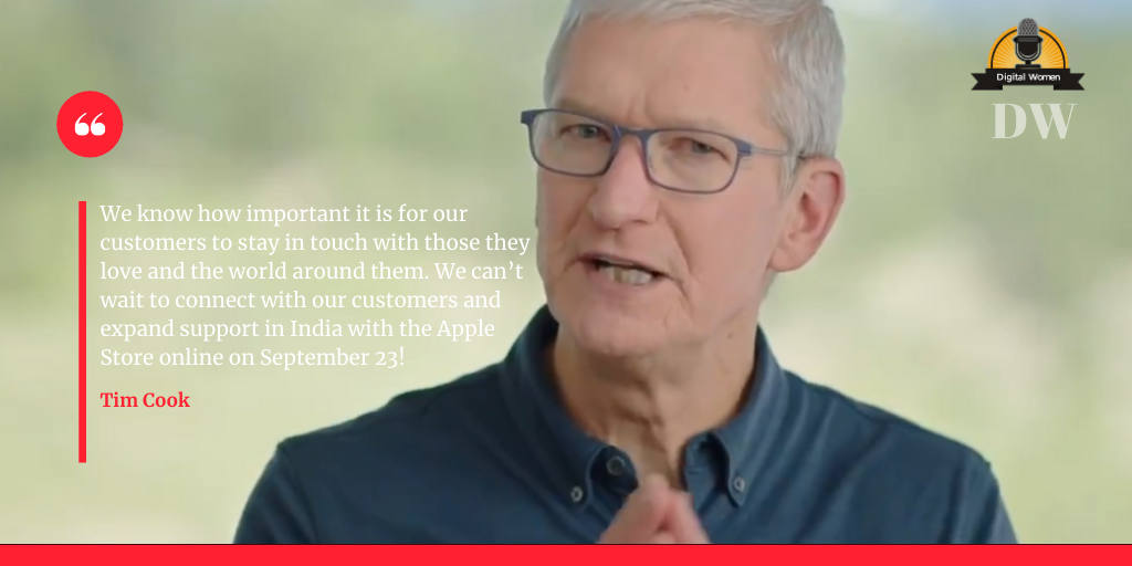 Apple will launch the Apple Store online in India on September 23