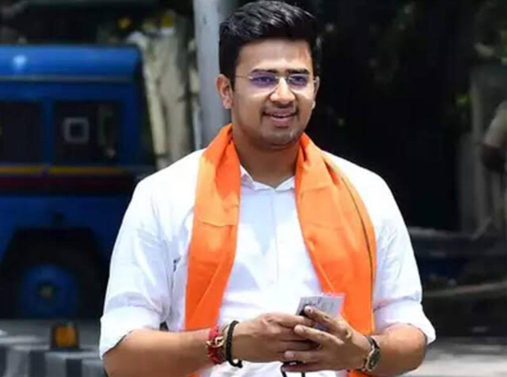 Tejasvi Surya As Yuva Morcha Chief