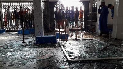 Bangladesh mosque gas pipeline blast