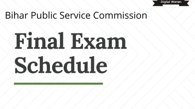 Bihar Combined Civil Services Exam 2020