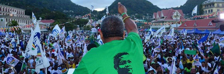 Indian origin Wavel Ramkalawan elected a new president of Seychelles