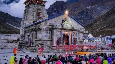 Unlock 5.0 Kedarnath temple