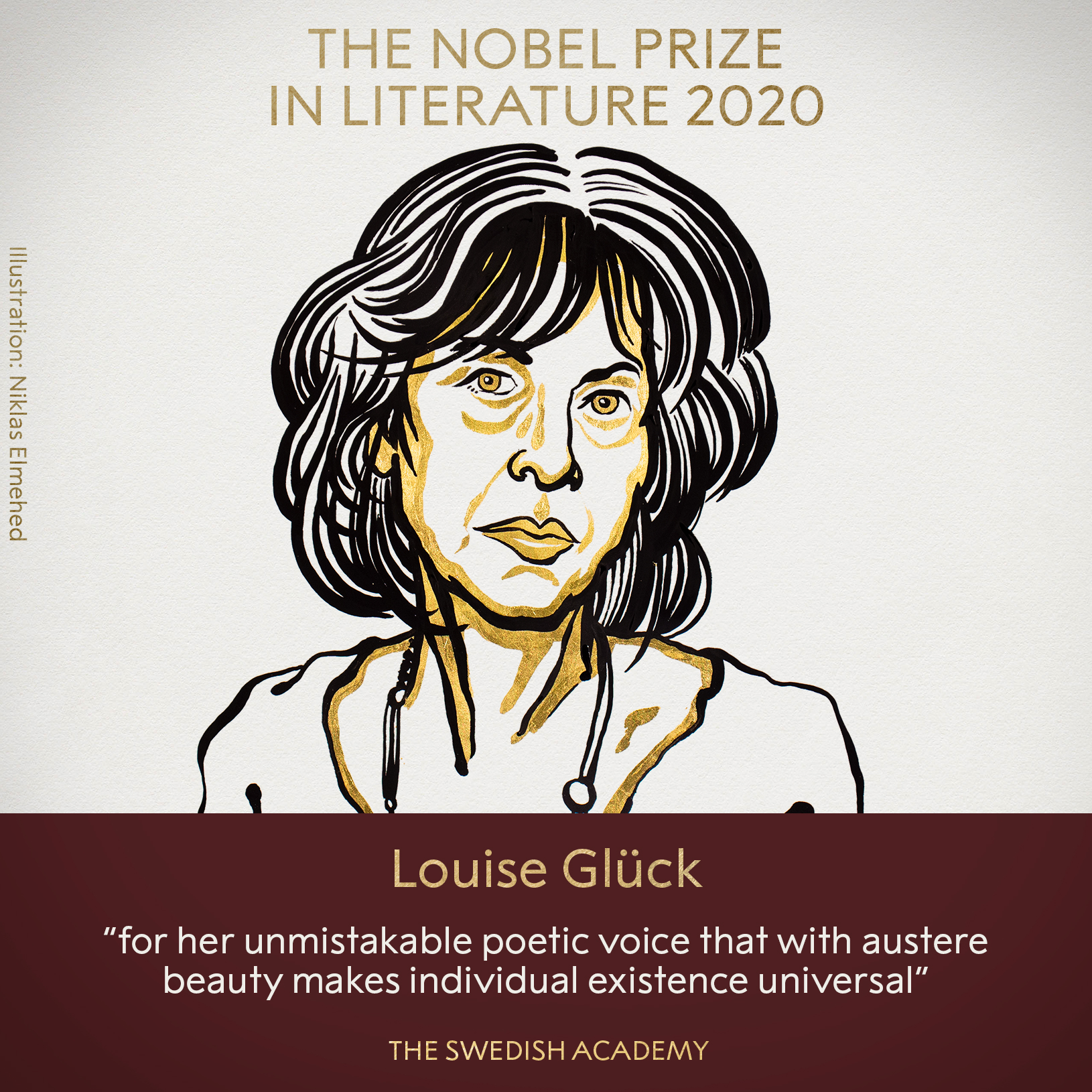 American Poet Louise Glück wins the 2020 Nobel prize in literature