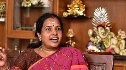 BJP National President appointed Vanathi Srinivasan as a New President of BJP Mahila Morcha