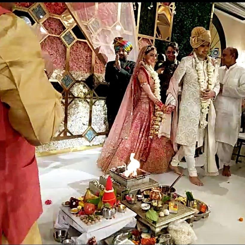Kajal Aggarwal's wedding - Kajal Aggarwal ties the knot with Gautam Kitchlu
