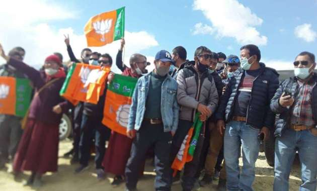 Ladakh Autonomous Hill Development Council Elections: BJP Sweeps Set To Form Govt