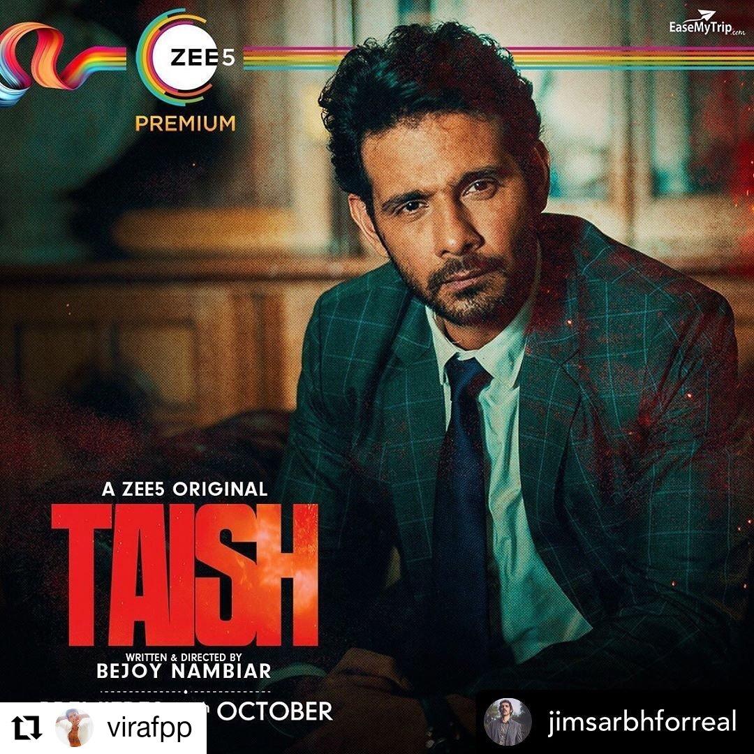 Taish is an upcoming ZEE5 Original Indian Hindi-language thriller drama film directed by Bejoy Nambiar.