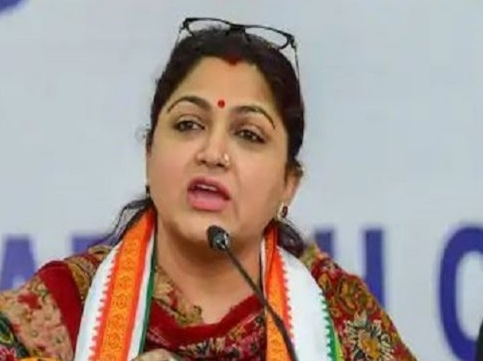 Congress Spokesperson Khushbu Quits Congress Party, Joins BJP
