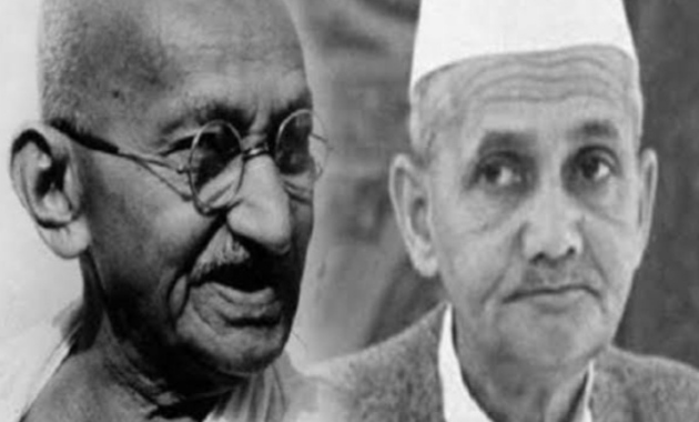 REMEMBER THE PREACHINGS OF MAHATMA GANDHI AND LAL BAHADUR SHASTRI