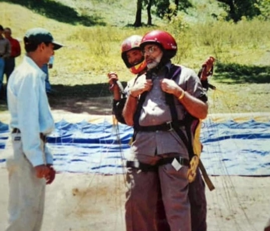 Manali paraglider pilot who took Narendra Modi to skies flying