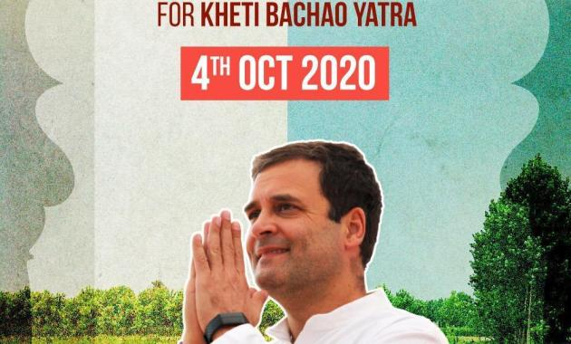 Rahul Gandhi to launch tractor rally in Punjab today