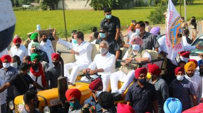 Rahul Gandhi's 3-Day Tractor Rally in Punjab
