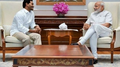 Andhra Chief Minister Jagan Mohan Reddy Meets PM Modi