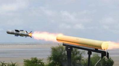 DRDO: India successfully carries out final trial of anti-tank guided missile
