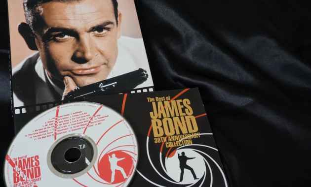 Best of Bond: a memorable collection. Stefano Chiacchiarini via Shutterstock