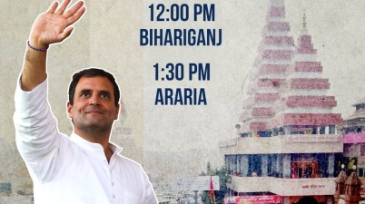Rahul Gandhi addresses a public rally in Madhepura, #Bihar #BiharElections2020