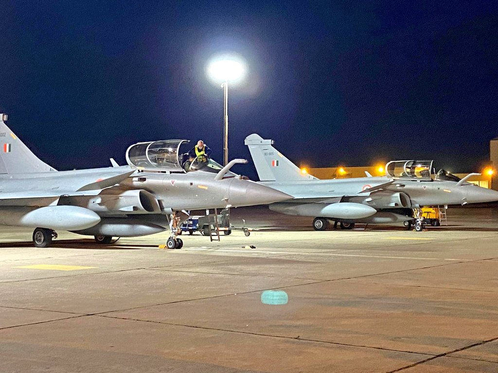 The second batch of Rafale fighter jets have landed in India