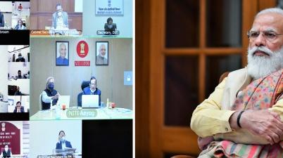 PM Modi chairs meeting on healthcare over Coronavirus