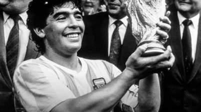 Argentine soccer legend Diego Maradona passes away