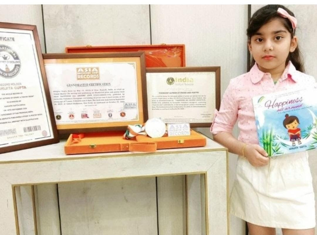 Youngest Author: 7-Year-Old Prodigy Abhijita Gupta has become the world's youngest author