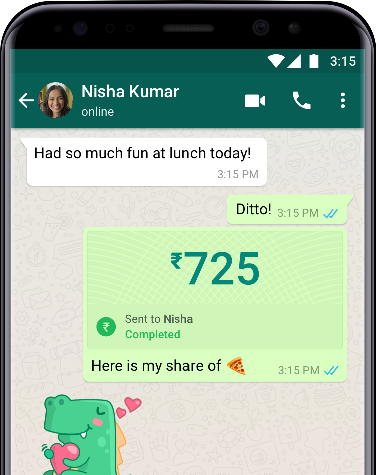 WhatsApp Payments - India: Now Send Money Via WhatsApp