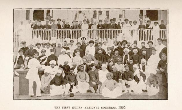 First session of Indian National Congress, Bombay, 28–31, December, 1885.