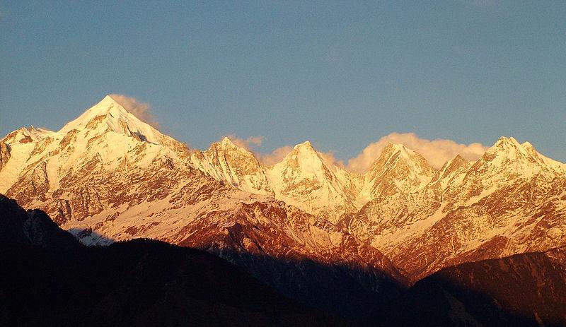 The Little Kashmir. Munsiyari