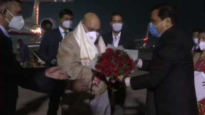Union Home Minister Amit Shah on three-day visit to Assam and Manipur