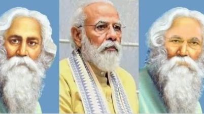 PM Modi on Rabindranath Tagore Gujarat link