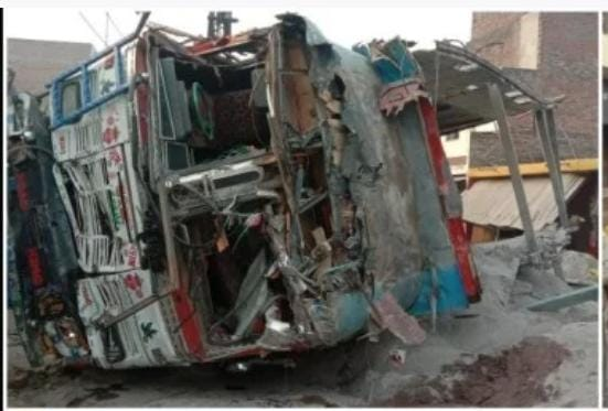 Uttar Pradesh Road Accident: Eight people died in a tragic road accident in Kaushambi