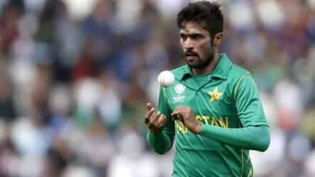 Pakistan Pacer Mohammad Amir has stepped down from international cricket