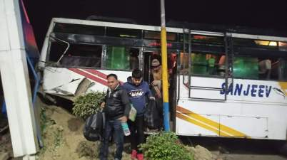 BPSC 66th Exam 2020:Students Bus Crashed In Saran District Bihar